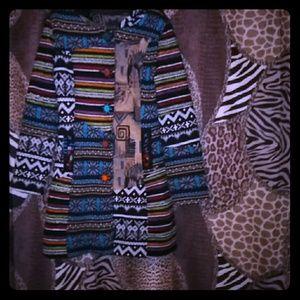 Jackets & Blazers - Multi ethnic style jacket
